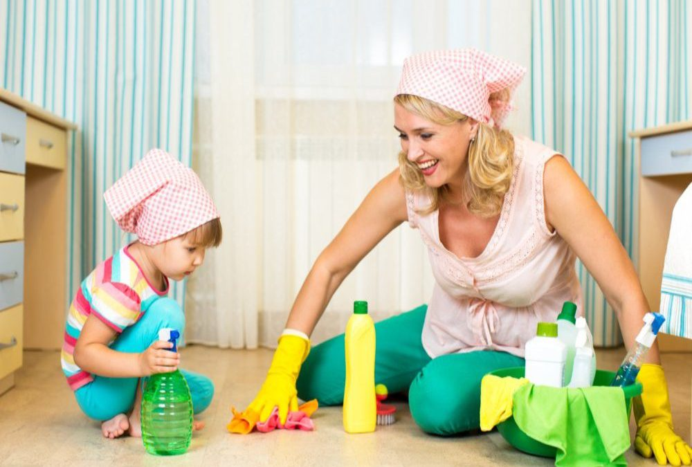 Age Appropriate Household Chores for Children